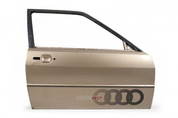 855831052E Audi Coupe Typ 81/85/Urquattro Tür Vorne Rechts Gold
