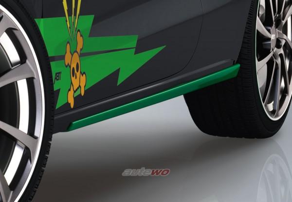 ABT Sportsline Seitenschweller Audi A1 8X Grasgrün 8X0801120GG