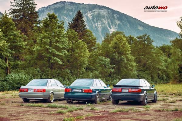 Poster DIN A2 Audi 5 Zylinder 20V Turbo Freunde