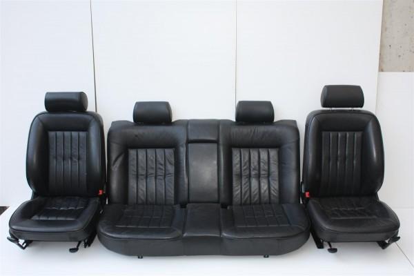 Audi A8 D2 Limousine Innenausstattung Leder schwarz komplett & Sitzheizung