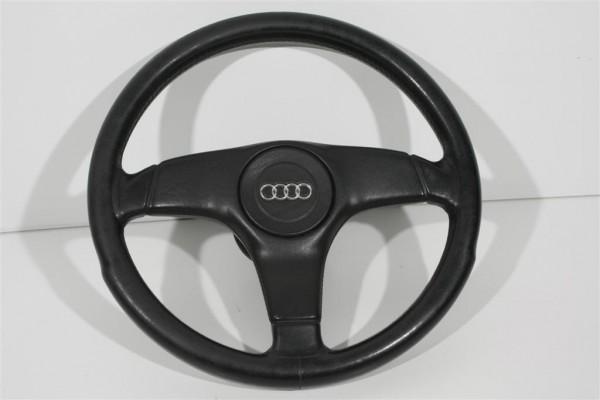 Audi 80/90 Typ 89/B4/100 Typ44/C4/V8 3-Speichen Sportlenkrad Leder 893419091P