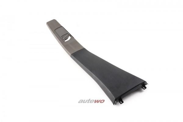 893867239B Audi 80 B4 B-Säulen-Verkleidung Links Platin Grau