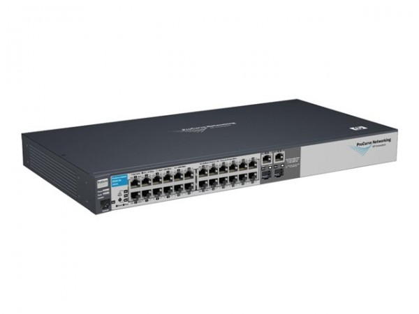 HPE 2510-24 Switch - managed - 24 x 10/100 + 2 x SFP (J9019B) - B-Ware