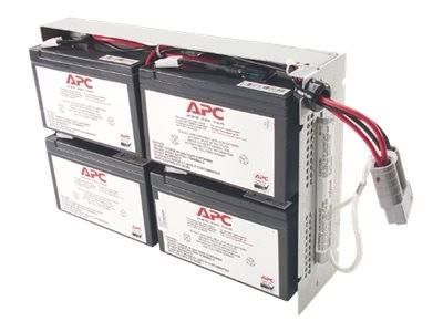 APC Replacement Battery Cartridge #23 - USV-Akku Bleisäure - Schwarz - für P/N: SUA1000R2ICH, SUA100
