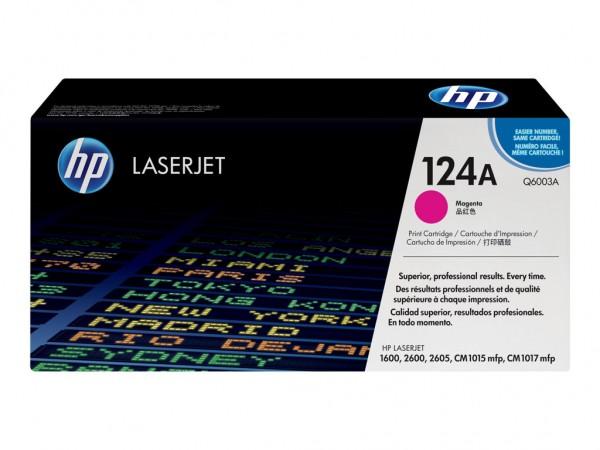 HP 124A - Magenta - Original - LaserJet - Tonerpatrone (Q6003A) Neu&OVP