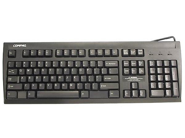 HPE - Tastatur - PS/2 - Deutsch - Kohle - für ProLiant ML330 G2, ML350 G2, ML370, ML370 G2, ML370R,