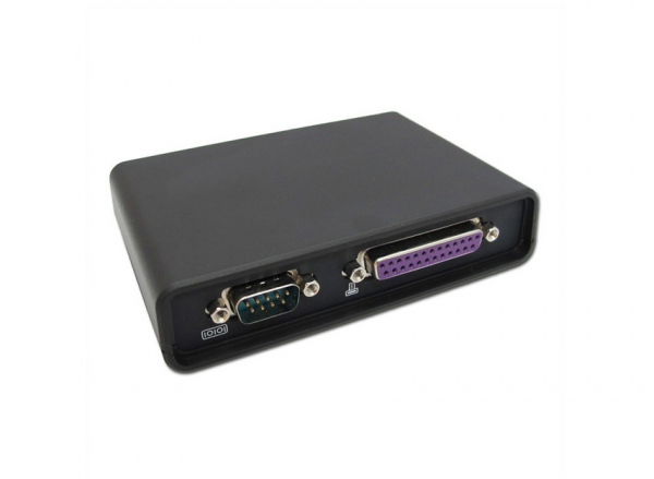 ROLINE Device Server für RS232 & Parallel (15060500) A-Ware