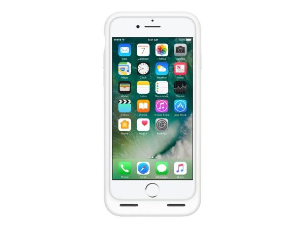 Apple Smart - Batteriefach hintere Abdeckung für Mobiltelefon - Silikon, Elastomer - weiß - für iPho