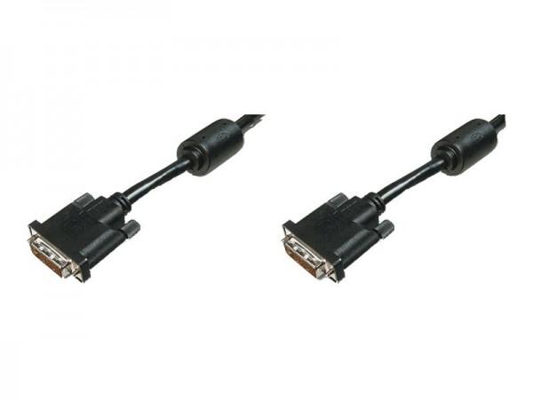ASSMANN - DVI-Kabel - Dual Link - DVI-D (M) bis DVI-D (M) - 2 m - geformt