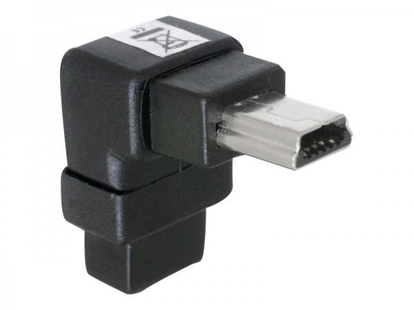 DeLOCK - USB-Adapter - Mini-USB, Typ B (M) bis Mini-USB, Typ B (W)
