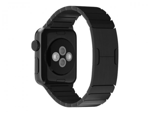 Apple 38mm Link Bracelet - Uhrarmband für Smartwatch - Space Black - für Watch (38 mm, 40 mm)