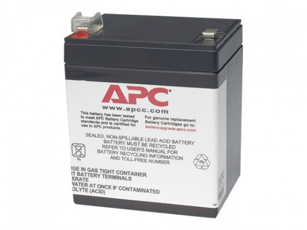 APC Replacement Battery Cartridge #46 - USV-Akku - 1 x Bleisäure - für Back-UPS ES 350, 500