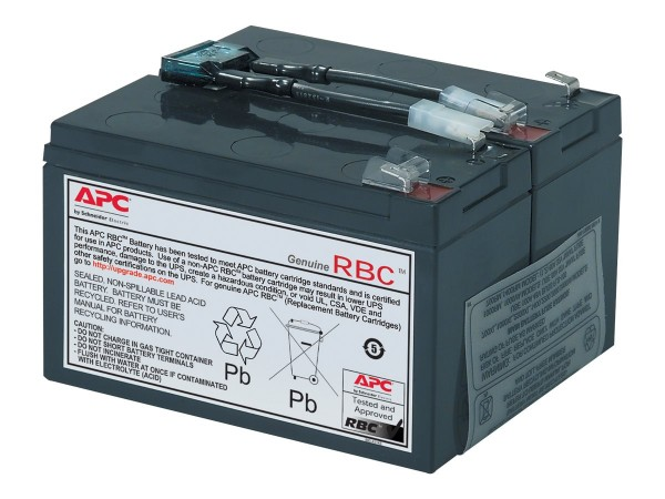 APC Replacement Battery Cartridge #9 - USV-Akku Bleisäure - Schwarz - für P/N: SU700RM, SU700RMI, SU