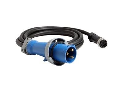 Lenovo - Stromkabel - IEC 60309 63A (M) bis Souriau UTG (W) - Wechselstrom 230 V - 63 A - 4.3 m