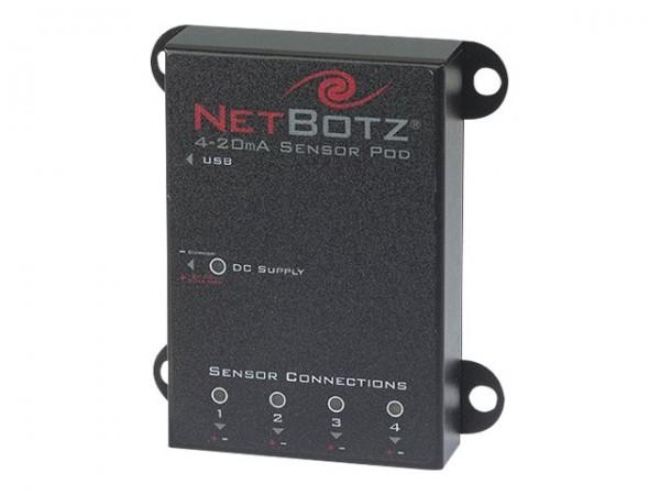 APC NetBotz 4-20mA Sensor Pod - Sensor-Pod - Schwarz - für NetBotz 420, 420E, 500, Rack Monitor 550;