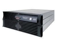APC Symmetra RM XR Frame w/ 2 SYBT2 Scalable to 4 - USV-Akku - 2 x Bleisäure - 4U - Schwarz - für P/