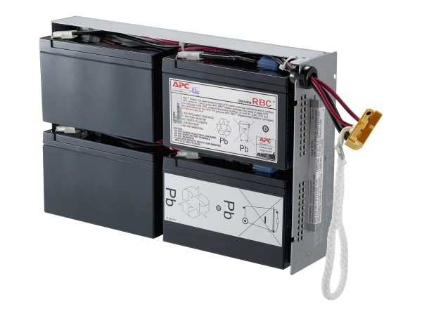 APC Replacement Battery Cartridge #24 - USV-Akku Bleisäure - Schwarz - für P/N: DLA1500RM2U, SU1400R