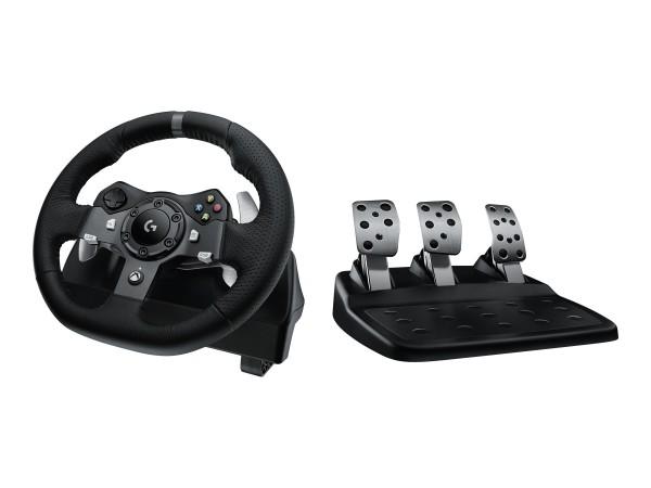 Logitech G920 Driving Force - Lenkrad- und Pedale-Set - kabelgebunden - für Microsoft Xbox One