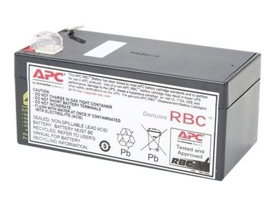 APC Replacement Battery Cartridge #35 - USV-Akku - 1 x Bleisäure - Schwarz - für P/N: BE325-CN, BE35