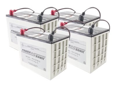 APC Replacement Battery Cartridge #13 - USV-Akku Bleisäure - Schwarz - für P/N: UXBP24, UXBP48