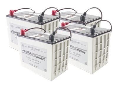APC Replacement Battery Cartridge #13 - USV-Akku - Bleisäure - Schwarz - für P/N: UXBP24, UXBP48