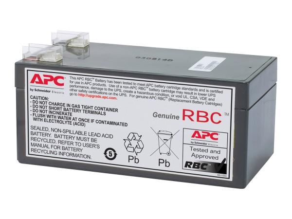 APC Replacement Battery Cartridge #47 - USV-Akku - 1 x Batterie - Bleisäure - 3200 mAh - Schwarz