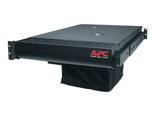 APC - Lüftungseinheit - Schwarz - 2U - für P/N: AR3100, AR3150, SRT1000RMXLI, SRT1000RMXLI-NC