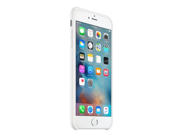 Apple - Hintere Abdeckung für Mobiltelefon - Silikon - weiß - für iPhone 6 Plus, 6s Plus
