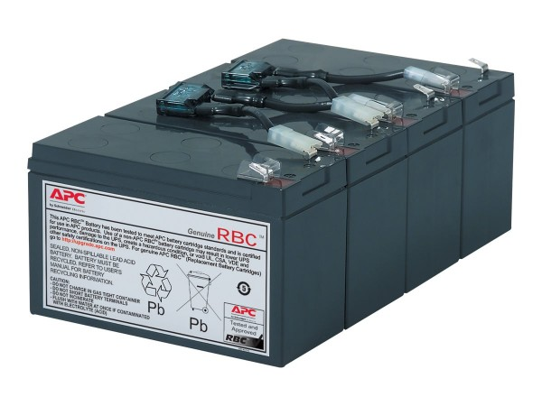 APC Replacement Battery Cartridge #8 - USV-Akku Bleisäure - Schwarz - für P/N: SU1400RM, SU1400RMBX1