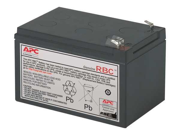 APC Replacement Battery Cartridge #4 - USV-Akku - 1 x Bleisäure - Schwarz - für P/N: BE750BB, BE750B