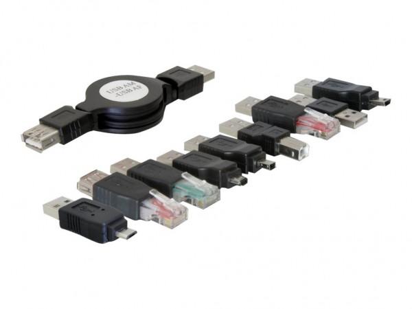 DeLOCK USB adapter kit - USB-Adapterkit