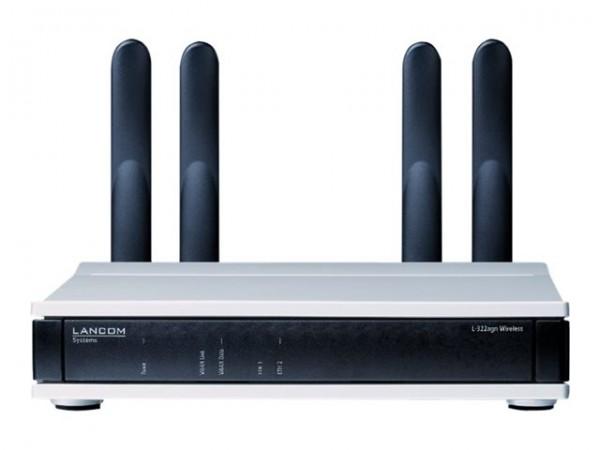 LANCOM Wireless L-322agn Funkbasisstation Wi-Fi inkl. Wandhalterung (61533) B-Ware