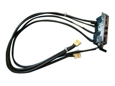 HP - USB / IEEE 1394 / Audio-Konsole - USB, Stereo Mini-Klinkenstecker, FireWire, 6-polig (W) bis Fi