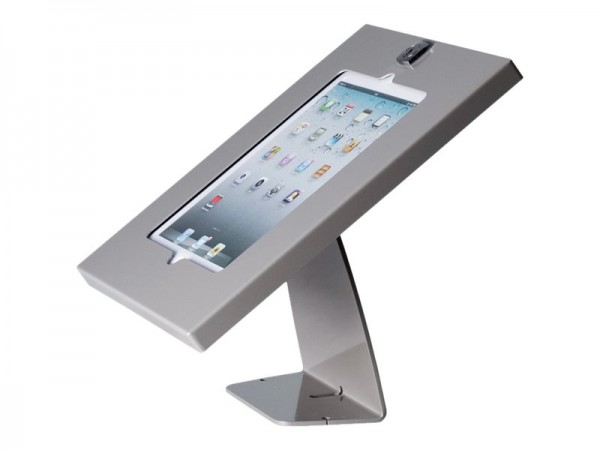 HAGOR TSG Tablestand - Befestigungskit (Tischmontage, Gehäuse, Trägerplatte) - Silber