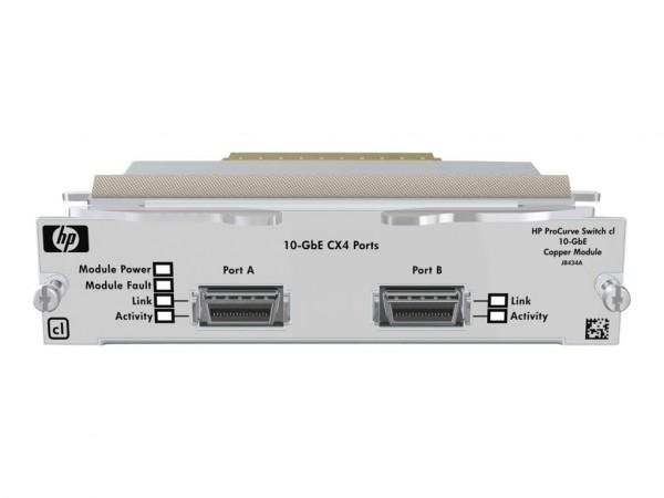 HPE - Erweiterungsmodul - 10 GigE - 10GBase-CX4 - 2 Anschlüsse - für HPE 6400-6XG cl Switch, 6410-6X