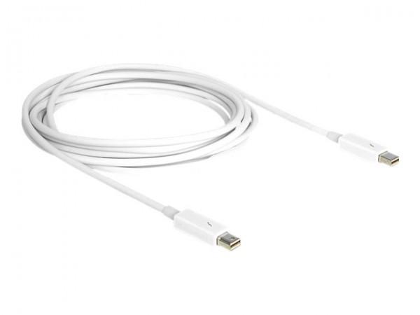 DeLOCK - Thunderbolt-Kabel - Mini DisplayPort (M) bis Mini DisplayPort (M) - 1 m - weiß