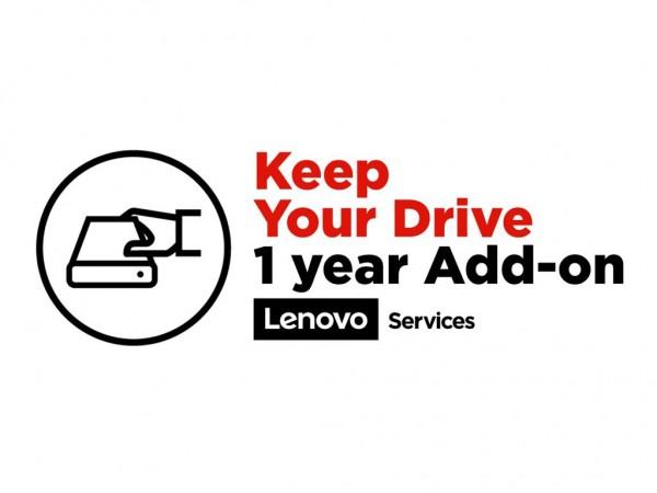 Lenovo Keep Your Drive Add On - Serviceerweiterung - 1 Jahr - für S200z; S400z; S500z; ThinkCentre M