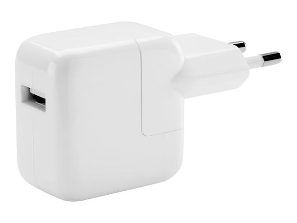 Apple 12W USB Power Adapter - Netzteil - 12 Watt (USB) - für iPad/iPhone/iPod