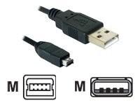 DeLOCK - USB-Kabel - mini-USB Typ B (M) bis USB (M) - 1.5 m