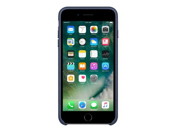 Apple - Hintere Abdeckung für Mobiltelefon - Leder - Mitternachtsblau - für iPhone 7 Plus