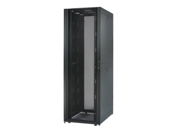 """APC NetShelter SX Enclosure with Sides - Schrank - Schwarz - 48U - 48.3 cm (19"""") - für P/N: SUA1000R"""
