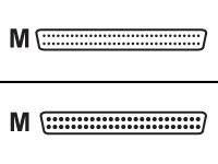 HP - SCSI - externes Kabel - HD-50 (M) bis HD-68 (M) - 1.8 m