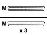 HPE - SCSI - internes Kabel - HD-68 (M) bis HD-68 (M) - 56 cm - für ProLiant 3000, 3000R, 5500, 5500