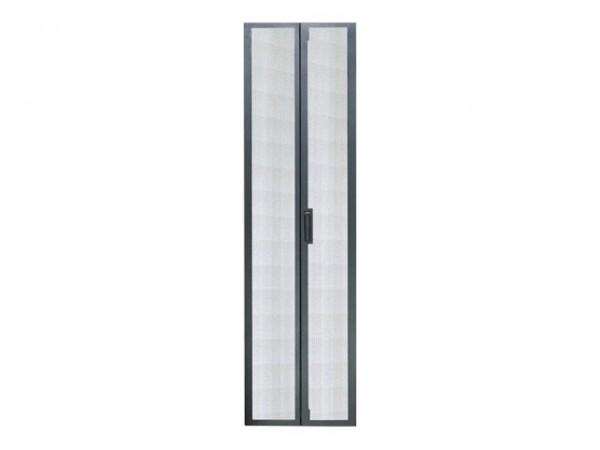 APC Netshelter VX - Rack-Tür - hinten - Schwarz - 42HE - für Netshelter VX Base Unit, Expansion Unit