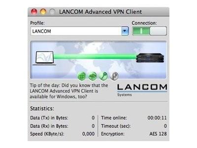 LANCOM Advanced VPN Client - Lizenz - 1 Benutzer - Win - Englisch, Deutsch