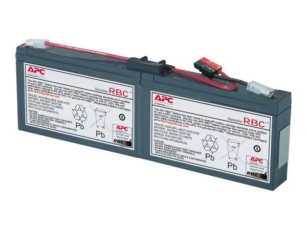 APC Replacement Battery Cartridge #18 - USV-Akku - 1 x Bleisäure - Schwarz - für P/N: AP1250RM, PS45