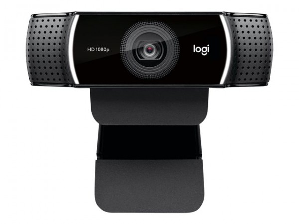 Logitech HD Pro Webcam C922 Web-Kamera Farbe 1920 x 1080 USB (960-001088) Neu&OVP