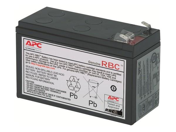 APC Replacement Battery Cartridge #2 - USV-Akku - 1 x Batterie - Bleisäure - Schwarz - für P/N: AP25