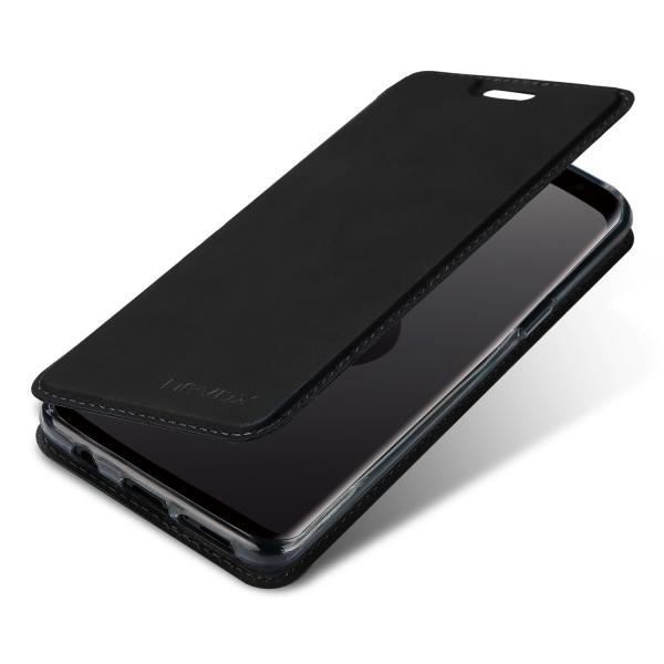 Nevox Vario Series - Samsung S9 Booktasche - Basaltgrau (1545) NEU & OVP
