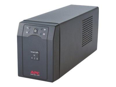 APC Smart-UPS SC 420VA - USV - Wechselstrom 230 V - 260 Watt - 420 VA - Ausgangsanschlüsse: 4